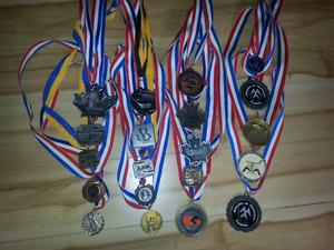 Collection de 20 médailles de hockey