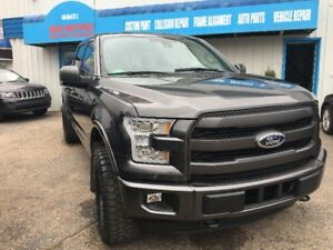 2015 Ford F-150 SuperCrew Lariat MAX TOW/ LEATHER/ NAV/PANORAMIC