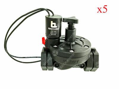 Kit X 5 Solenoid Valve Irrigation 1
