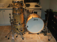 Ludwig 5 piece Accent Custom Drum Set
