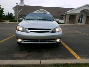 2005 chevy optra5 low km