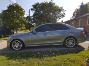 2010 MERCEDES BENZ C350 AMG PACKAGE