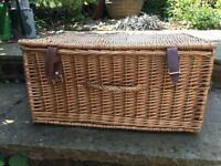 Wicker Picnic Basket / Storage Basket
