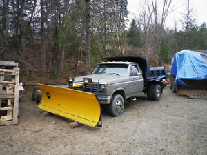 1988 Ford One Ton with Plow & Dump Box