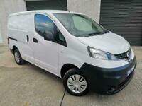 2017 Nissan NV200 1.5 dCi Acenta Van Euro 6 ONLY 16,124 MLS NO VAT CAR DERIVED V