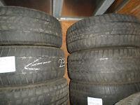235/55/17 dunlop winter tire set