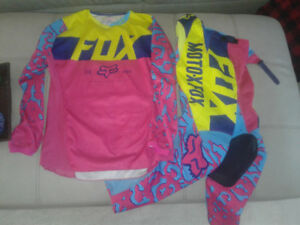 pantalon et chandail motocross fox