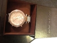 Brand new authentic Michael Kors watch tags on $355