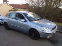2003 (03) Ford Focus tdci , 5 door, 9 months mot, new clutch £675