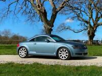 2004 04 AUDI TT 1.8 T 180 BHP SPEED BLUE BEAUTIFUL CONDITION TOTALLY ORIGINAL
