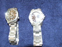 Two mens dive watches, New Seiko used Roots