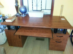 Big,solid desk. In nearly new condition.