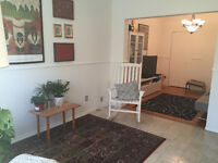 Fully Furnished apartment  to sublease 5 ½ - 1 000 $ - Verdun