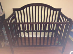 Chocolate brown Crib