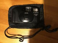 Canon Snappy with soft bag, very good condition.