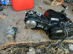 50cc manual engine and carb ( needs cleaning )