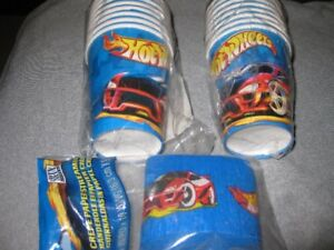 NEW Hot Wheels Party/Birthday Supplies, Stickers