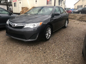 2012 TOYOTA CAMRY LE CERTIFIED AND E-TESTED NO ACCIDENTS