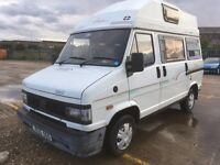1992 FIAT DUCATO 1.9 TURBO DIESEL CAMPERVAN MOT JULY
