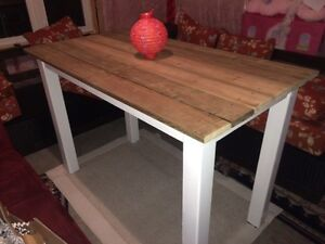Rustic dining table - brand new