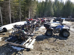 4 wheeler & dirt bike parts. Bikes are listed in description