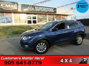 2018 Nissan Rogue AWD SV  ROOF CAM BLINDSPOT P/SEAT  HS BT REMOT