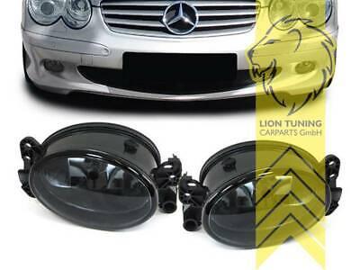Nebelscheinwerfer für Mercedes W204 W164 W463 W211 schwarz smoke