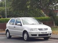 Volkswagen Polo 1.4 2002MY Match,2 OWNERS,ONLY DONE 74K,GOOD SERVICE,LONG MOT