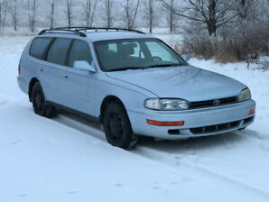 1994 Toyota Camry Wagon.... Wagon ?? Yes, and 30 + mpg !