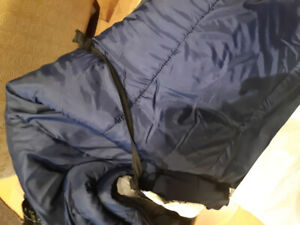 two sleeping bags