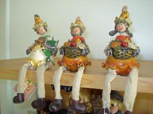 [5,00$ POUR LES 3] 3 figurines épis de maïs