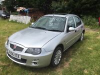 A one off low Mileage rover 25 gli has only coverd 9771 miles