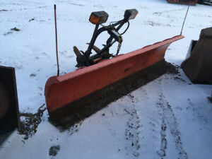 9 foot Curtis plow  off 90s chev 1 ton