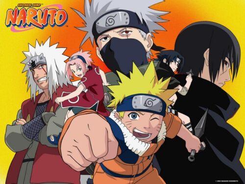 Naruto & Naruto Shippuden Complete Anime Series (Episodes 1-720 + 12 Movies)