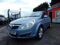 2008 Vauxhall Corsa 1.3 CDTi [90] Design 5dr low mileage,Full service history...