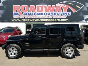 2013 Jeep Wrangler Unlimited Sahara PST Paid Hard and Soft Top