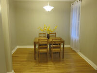 Spacious 3 Bedroom, One block from the Canal - Avail August 1