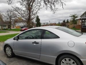 2006 HONDA CIVIC 2 DOOR VERY GOOD CONDITION ONLY 128KM 4CYC GOOD