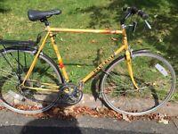 Vintage Peugeot Aubisque Road Bike.
