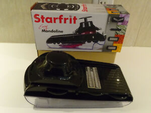 Starfrit Easy Mandoline is the perfect kitchen tool to slice, gr