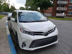 2018 Toyota Sienna XLE Limited  Minivan, Van