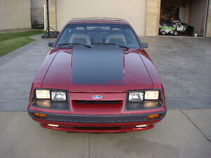 1986 FORD MUSTANG COBRA GT