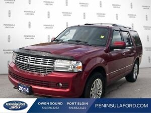 2014 Lincoln Navigator 4DR 4WD  LOW LOW KMS!  LUX 7-PASS!!!