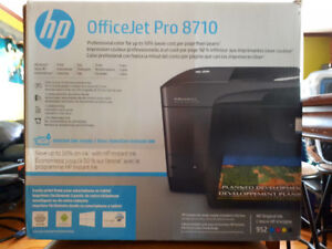 HP OfficeJet Pro 8710 All-in-One Wireless Duplex Colour Printer