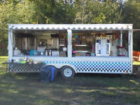 MOBILE CATERING SERVICES - CONCESSION TRAILER