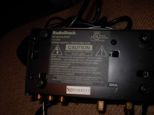 Two Video RF Modulators With Cables For Sale in Great Condition London Ontario image 4