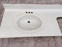 Grey Marble Bathroom vanity top