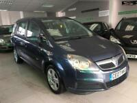 2007 VAUXHALL ZAFIRA CLUB 16V Blue Manual Petrol