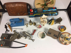 Huge lot of various antique items!