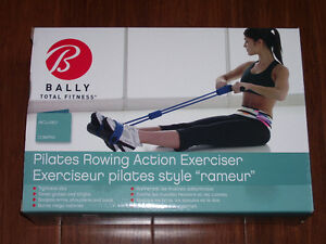 Bally Pilates Rowing Action Exerciser New In Box
